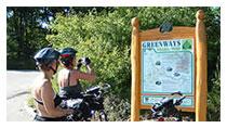 Ubytování Znojmo - Greenways -cyklistika v Podyjí